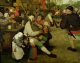 Peasant Dance by Pieter the Elder Bruegel