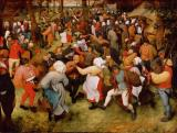 The Wedding Dance by Pieter the Elder Bruegel
