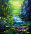 After Monet by Pol Ledent