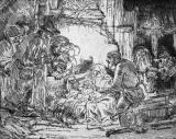 Nativity by Rembrandt