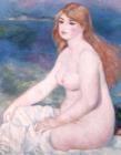 Blonde Bather II by Renoir
