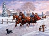 Sleigh Ride by Richard De Wolfe