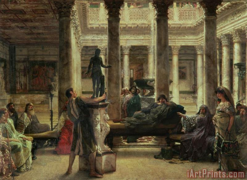 Roman Art Lover painting - Sir Lawrence Alma-Tadema Roman Art Lover Art Print