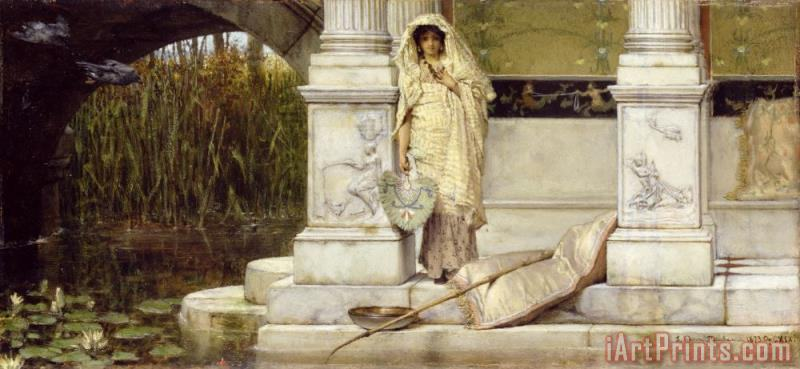 Sir Lawrence Alma-Tadema Roman Fisher Girl Art Print