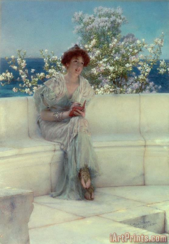 The Year's at the Spring - All's Right with the World painting - Sir Lawrence Alma-Tadema The Year's at the Spring - All's Right with the World Art Print