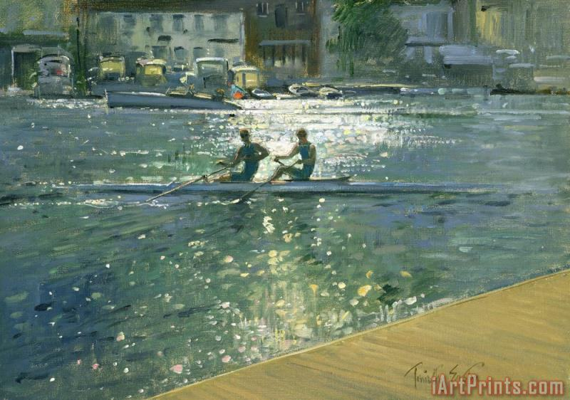 Timothy Easton Crossing the Light Break - Henley Art Print