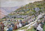 The Miracle of the Loaves and Fishes by Tissot