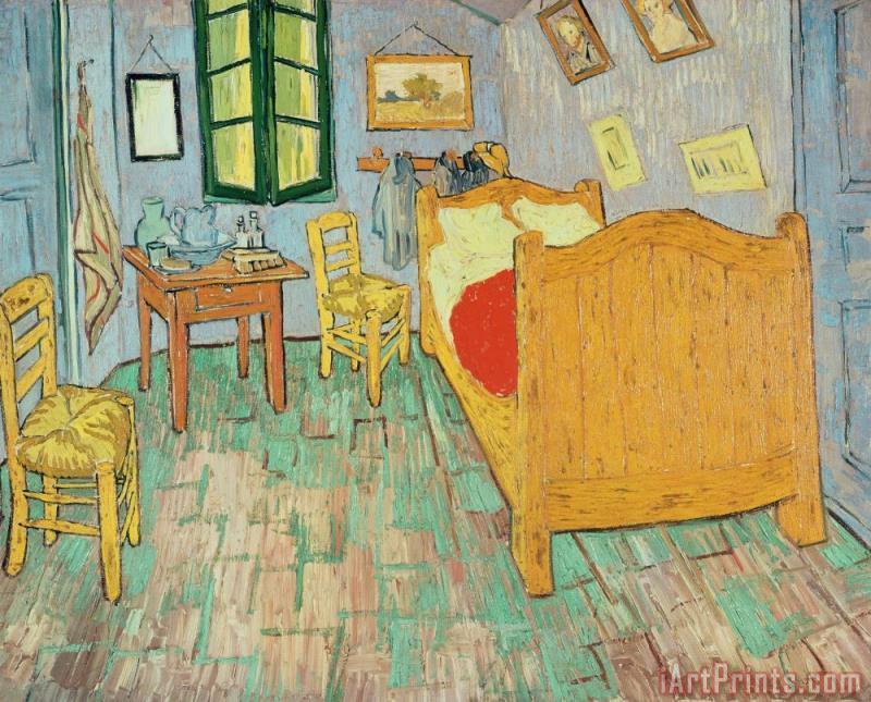 Vincent Van Gogh Van Goghs Bedroom At Arles Painting