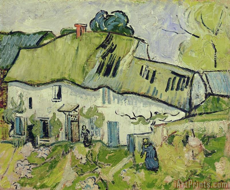 Vincent van Gogh The Farm in Summer Art Painting