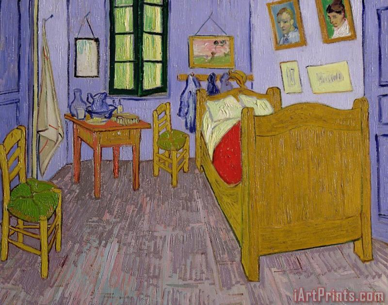 Van Goghs Bedroom at Arles painting - Vincent van Gogh Van Goghs Bedroom at Arles Art Print