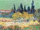 The Garden at Arles by Vincent van Gogh