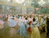 Court Ball at the Hofburg by Wilhelm Gause