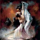 Argentino Paintings - Tango Argentino I by willem haenraets