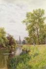 The Thames at Purley by William Bradley